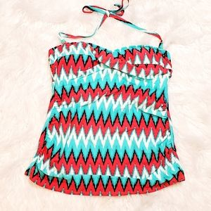 Tankini Top Padded NWT Women's Size M